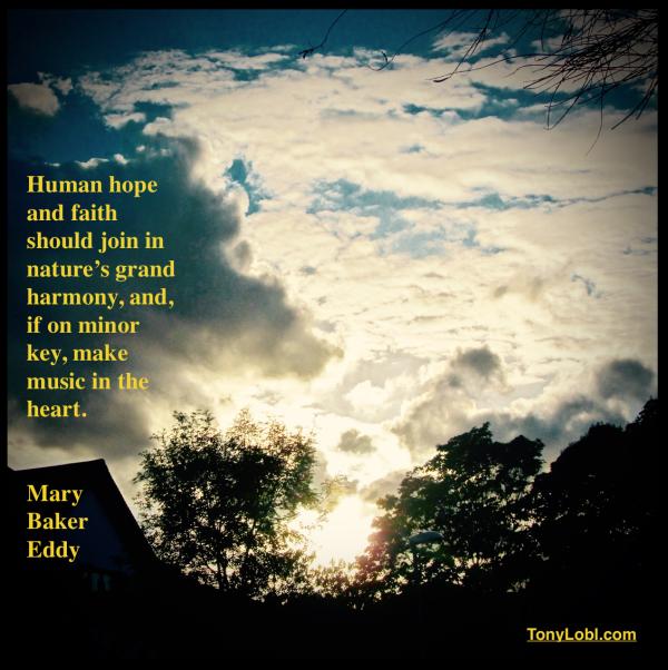 """""""Hope And Faith In A Minor Key"""" by Tony Lobl"""