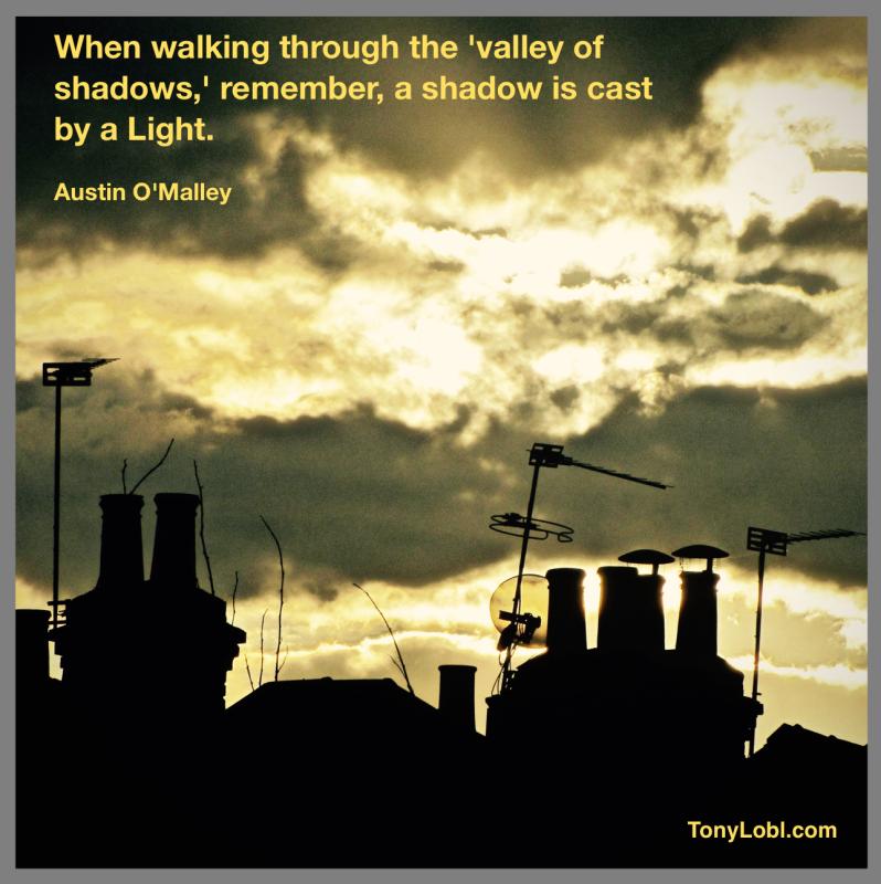 """""""Shadows and light"""" by Tony Lobl"""
