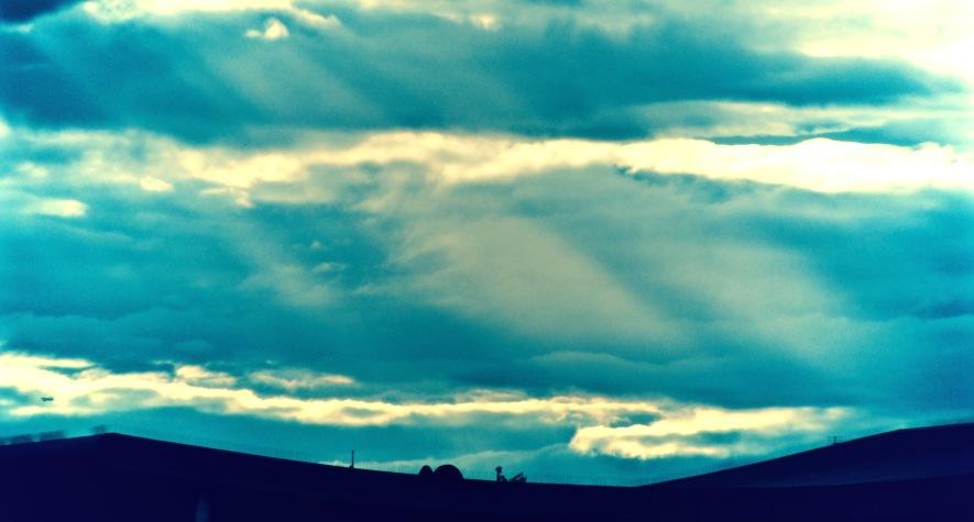 """""""Light rays"""" by Tony Lobl"""