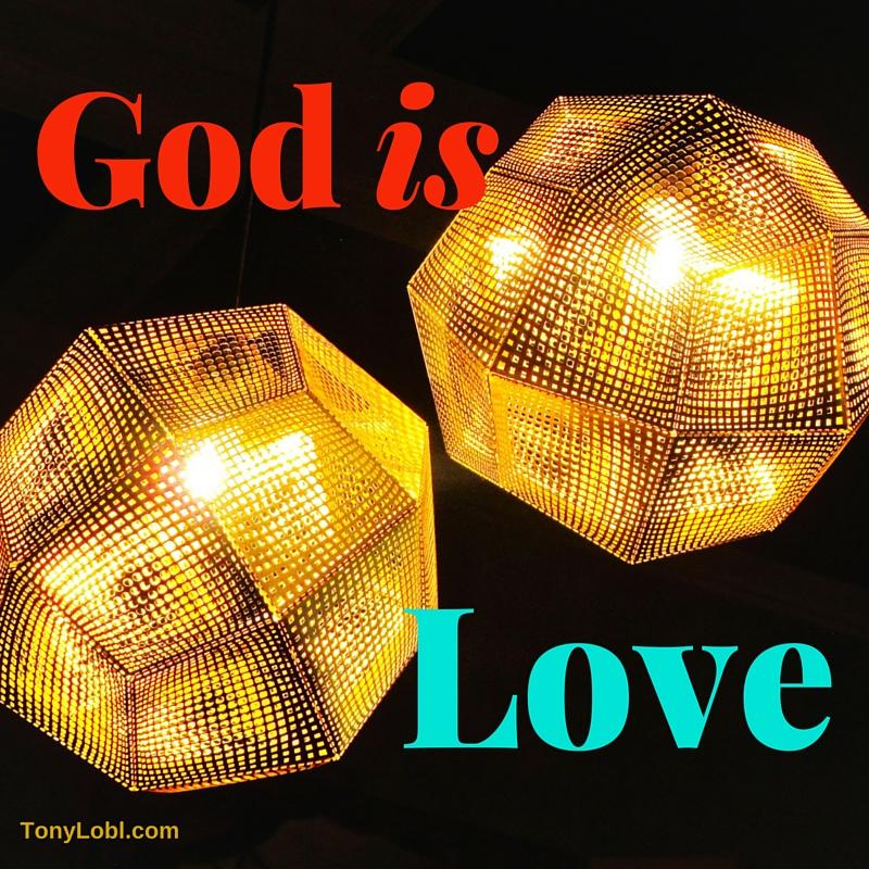 """God is Love"" by Tony Lobl"