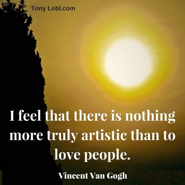 """""""The greater art"""" by Tony Lobl"""