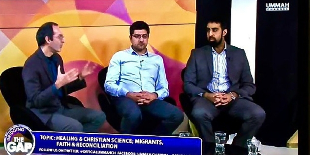 Tony on %22Bridging the gap%22 on Ummah TV - February 2016 - in action - Twitter