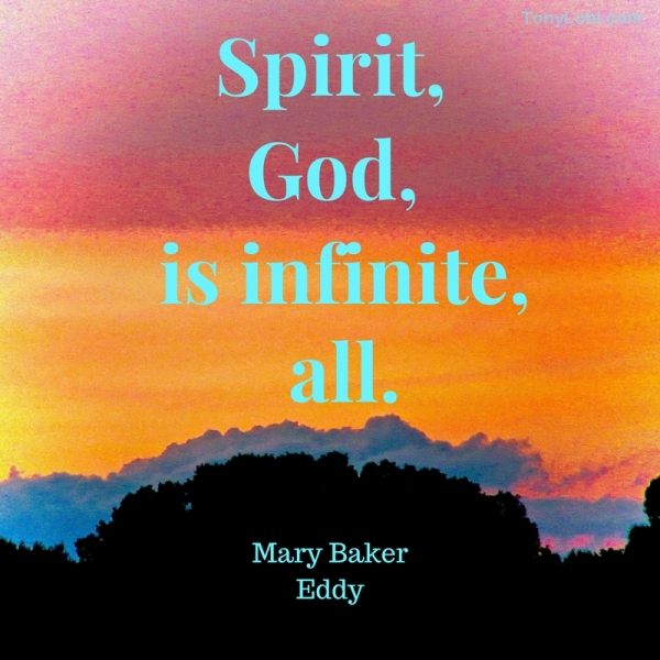 """Infinite Spirit"" by Tony Lobl"