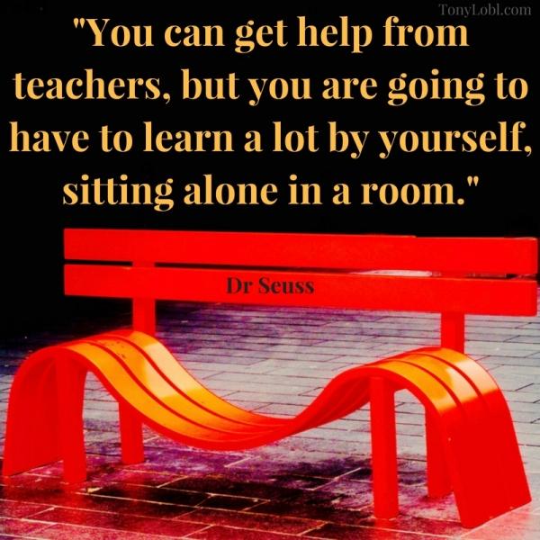 """Red bench"" by Tony Lobl - web"