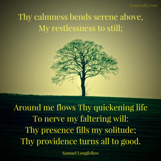 """""""God's calmness"""""""